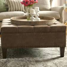 large leather tufted ottoman tufted cocktail ottoman leather tufted ottoman coffee table park