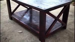 how to make a ana white coffee table youtube