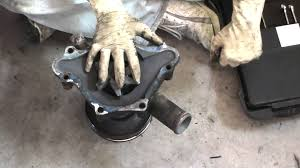 1988 3 9 liter v6 dodge dakota water pump removal and replacement