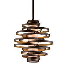 Foyer Lighting Ideas by Corbett Lighting Vertigo Hanging Foyer Light The Mine