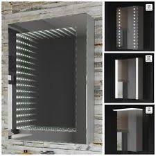 Bathroom Mirror Cabinet With Shaver Socket Mirror Light Shaver Ebay