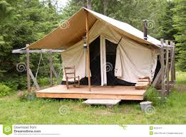 Tent Building by Building A Wooden Platform For A Camping Tent Base Google Search