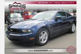 used ford mustang 2010 used ford mustang for sale in denver co edmunds