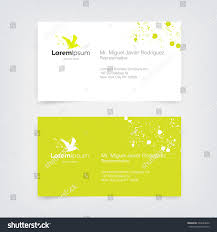 lime silhouette vector lime green business card design stock vector 224603020