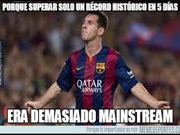 Memes De Messi - los memes del r礬cord en chions de messi
