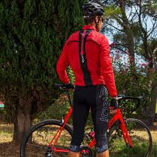 cycling shower jacket ekoi rain stop pocket red windproof jacket