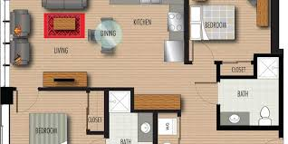 One Bedroom Apartments In Greenville Sc by Floor Plans U0026 Pricing Luxury Apartments In Downtown Greenville Sc