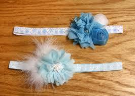 frozen headband frozen inspired headbands with matching