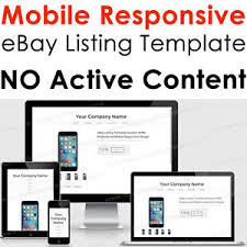 ebay template design template responsive ebay listing html auction professional mobile