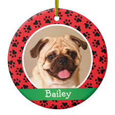 pet photo ornaments keepsake ornaments zazzle