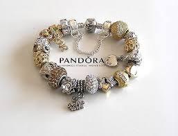 pandora bracelet charms silver images Pandora charms silver and gold pandora jewelry stock jpg