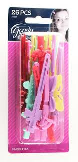 goody barrettes goody glam self hinge barrettes assorted walmart canada