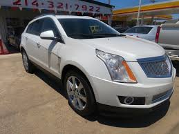 cadillac srx pearl white 2011 cadillac srx performance collection 4dr suv in dallas tx