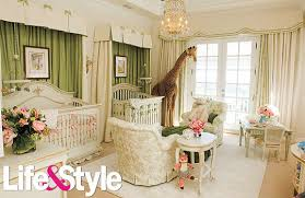 chambre bebe luxe lifestyle carey goes all out on nursery