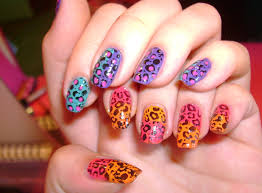 animal print nail designs nail art