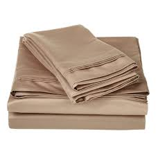 1000 Egyptian Cotton Sheets Superior Long Staple Combed Cotton Solid Sheets 1500 Thread Count