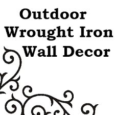 Iron Wrought Wall Decor Outdoor Wrought Iron Wall Decor Png