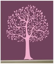 compare prices on black tree wall sticker big online shopping buy wall decal big tree decor art sticker mural in black white pink wall stickers for kids