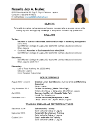 On The Job Training Resume by Njn Resume Pdf