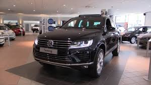 volkswagen touareg black volkswagen touareg 2016 in depth review interior exterior youtube