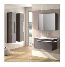 bagno mobile mobile bagno sospeso moderno grigio opaco con lavabo in porcellana