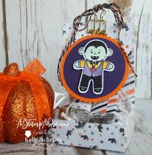 halloween sweet bags feature friday video sneak peek halloween a stamp above