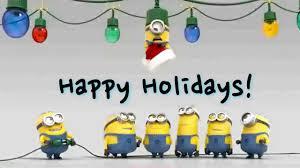 happy holidays minion bulb on vimeo