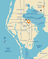 Clearwater Zip Code Map by Plan Your Visit Bio Visit Raymond James