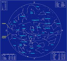 Sky Maps Star Charts U2013 The Center For Planetary Science