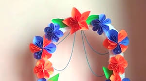 Flower Decoration At Home How To Make Ganapathi Decoration At Home Mmkolors Youtube