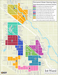 Chicago Loop Map by Street Cleaning Schedule Alderman Joe Moreno U2013 Chicago U0027s 1st Ward