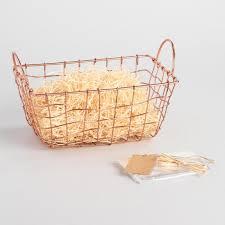 copper gift basket kit world market