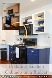 how to replace kitchen cabinets on a budget how to update kitchen cabinets on a budget sweet tea