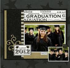 graduation photo album 146 best scrapbooking school graduation images on