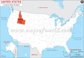 idaho zone map where is idaho location of idaho