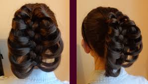 hair plait with chopstick cage braid ponytail by hairdo tv youtube
