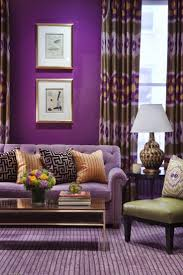 eye for design decorating with the purple green combination
