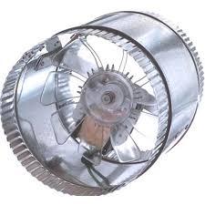 register booster fan reviews shop suncourt inductor in line duct fan 6 in dia galvanized steel