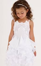 summer whites dress with ruffled skirt biscotti
