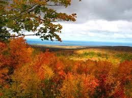 fall color porcupine mountains upper peninsula