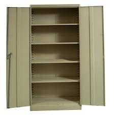 Metal Storage Cabinet With Doors by Metal Storage Cabinets With Doors Home Design Ideas