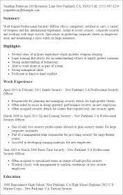 campus security officer resume sample phd thesis design