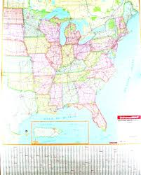 Map Eastern United States by Map Of The Us Northeast Eastern Covering All Multi State Wall Maps