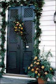 decorations deck the doors the colonial williamsburg official