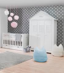 chambre bébé plage pinio plage 3 meubles lit 140x70 commode armoire 3 portes baby