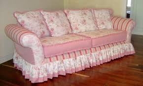 Cottage Chic Slipcovers by Shabby Chic Living Room Traditional Sofa Cottage Style Fabric