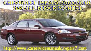 chevrolet impala 2006 2007 2008 2009 2010 manual manual de