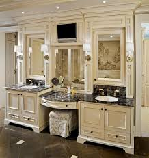 Makeup Vanity Modern Makeup Vanity Tables Bathroom Sink Cabinet With Area Cabinets 18