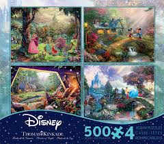 deluxe sets kinkade jigsaw puzzle collection