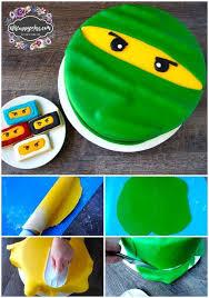 how to make a lego ninjago birthday cake lego ninjago cake lego